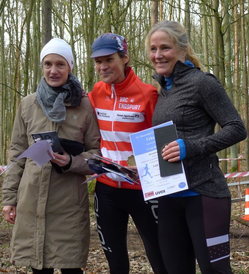 2020 Mountain Challenge Podium Frauen